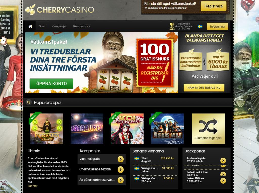 svenska cherrycasino